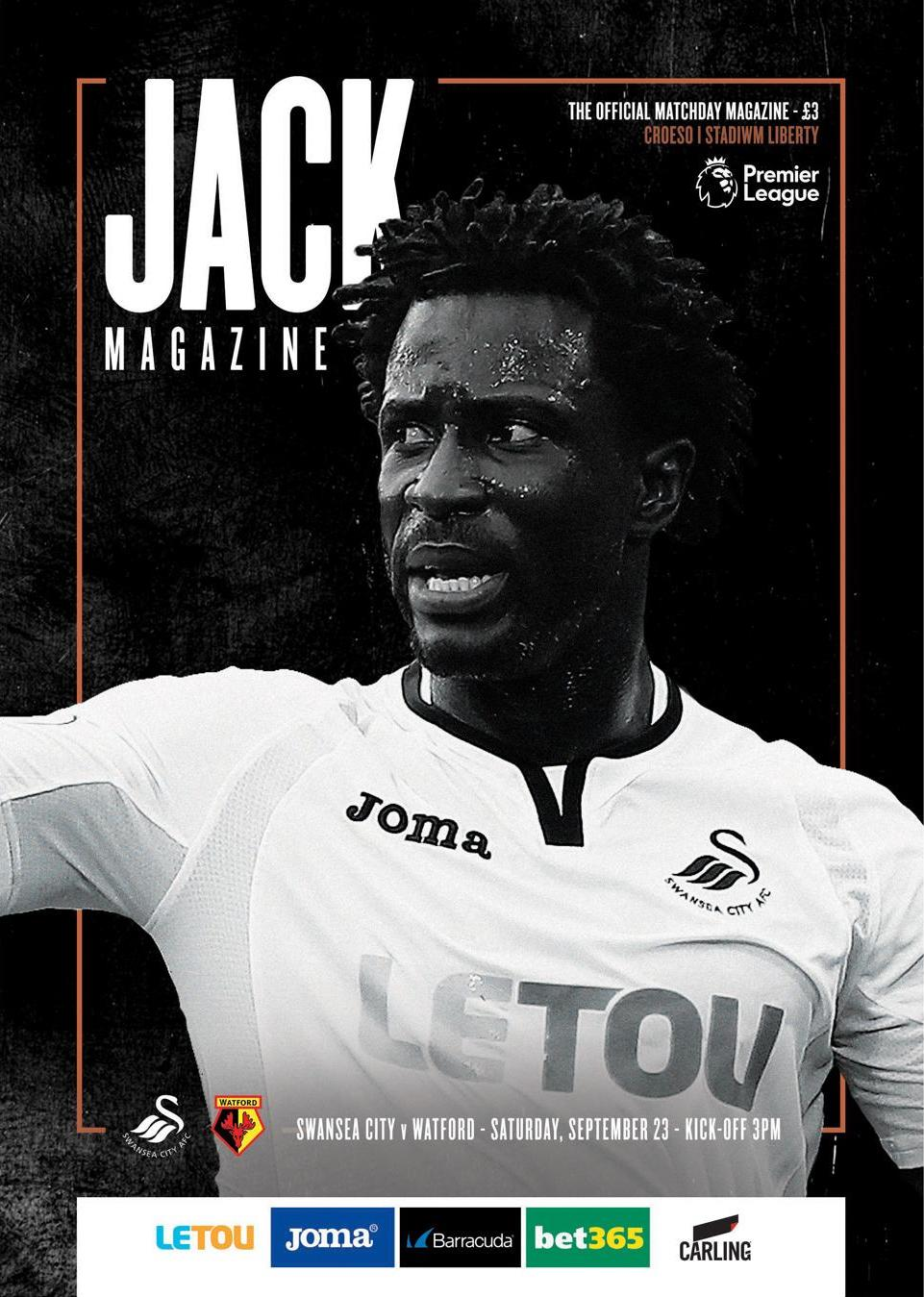 Watford programme cover